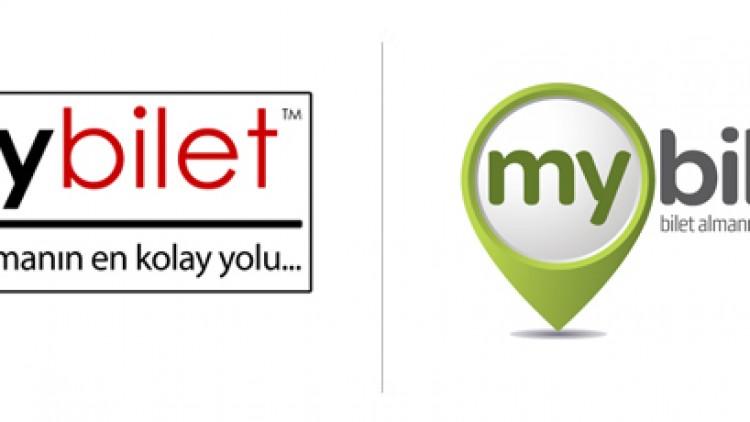 MyBilet'ten Yeni Logo