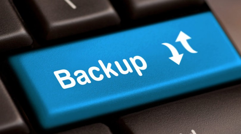 Restore data android backup