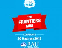 Frontiers Konferansı Bu Cumartesi!