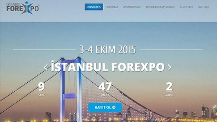 İstanbul Forexpo Etkinliği