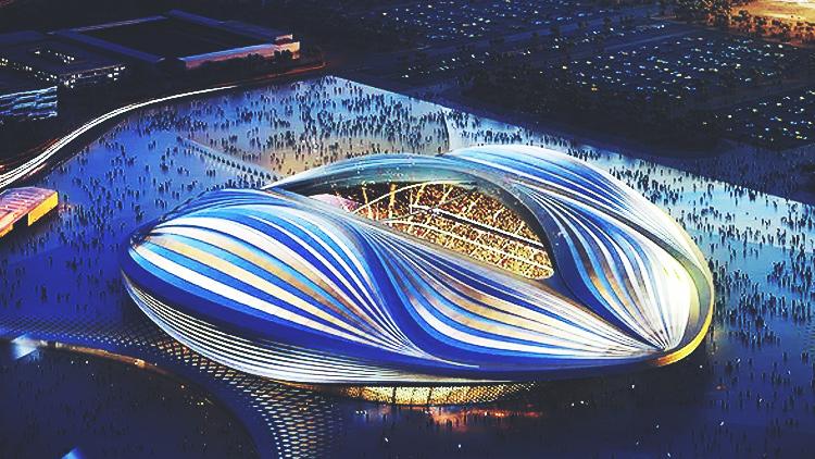 Katar 2020 Dünya Kupası için tasarladığı stad